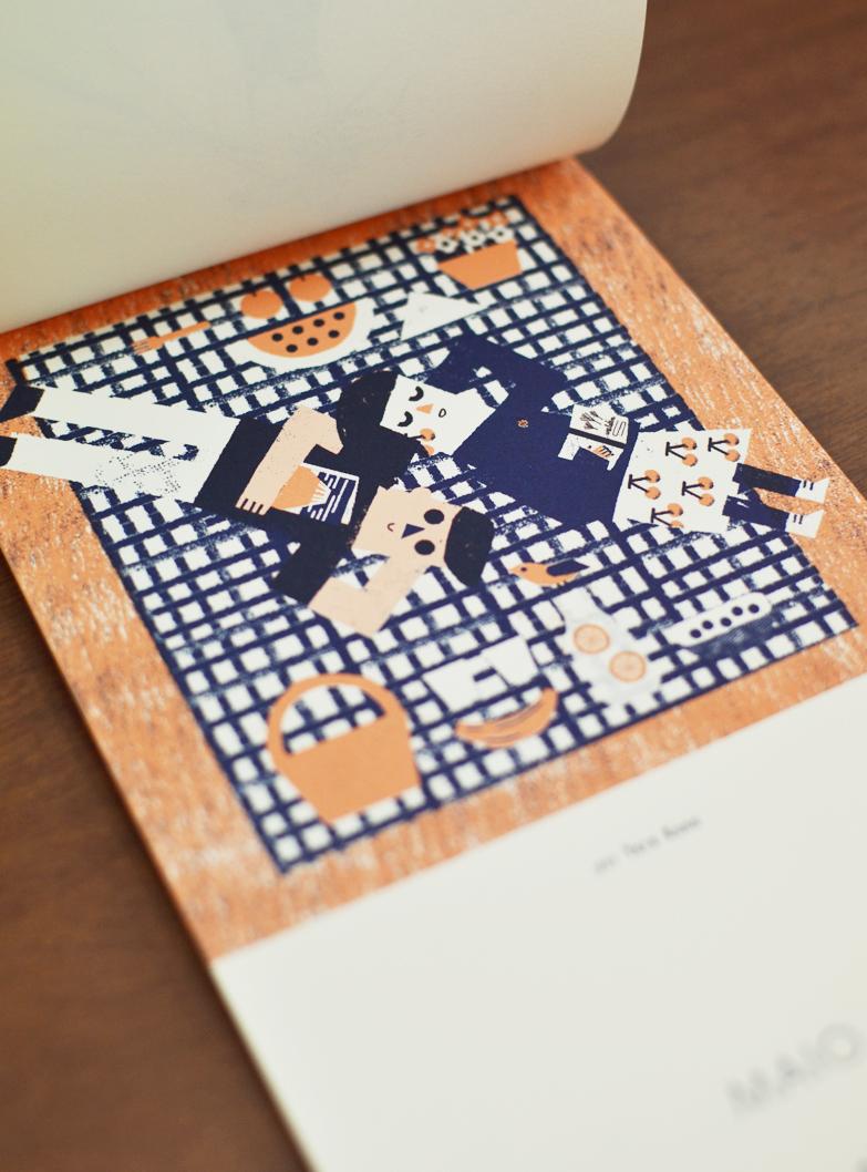 Maio, ilustrado por Yara Kono /  May, illustrated by Yara Kono