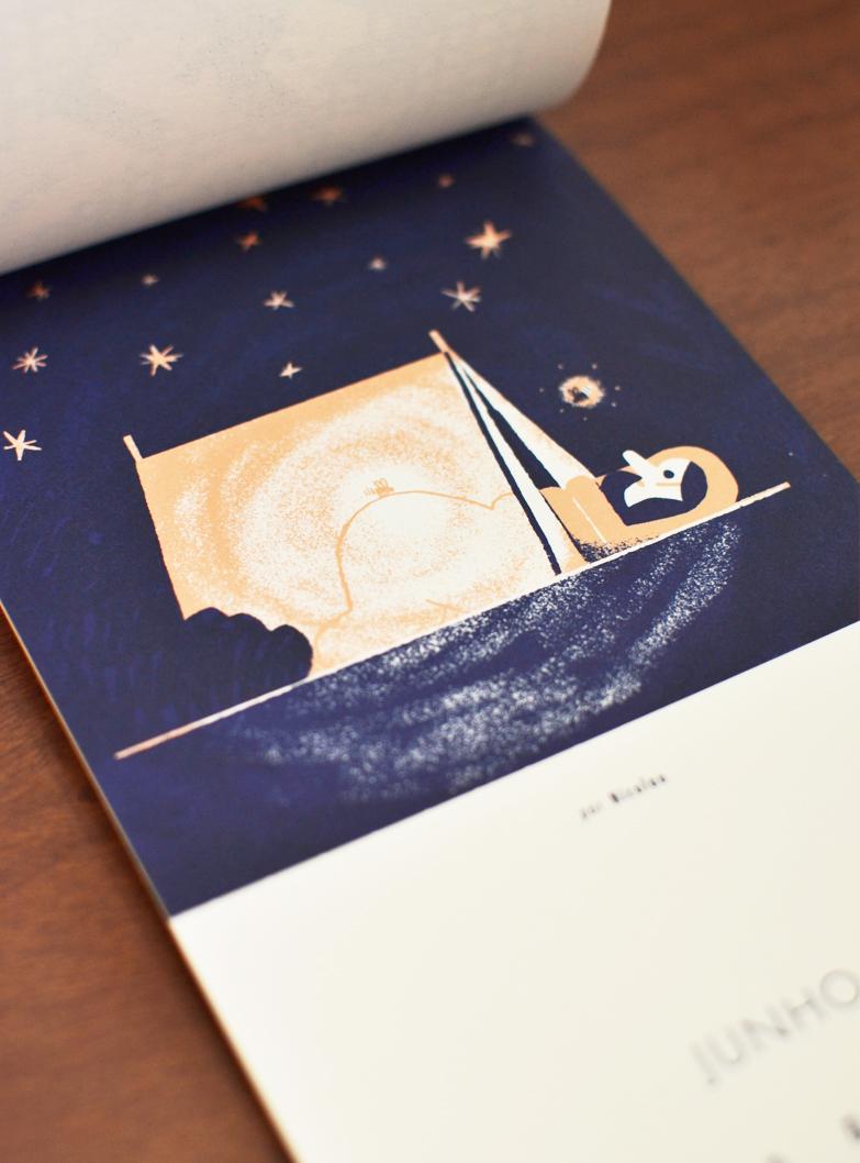 Junho, ilustrado por Nicolau /  June, illustrated by Nicolau