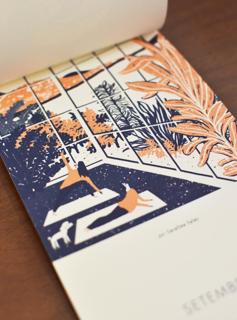 Setembro, ilustrado por Carolina Celas /  September, illustrated by Carolina Celas