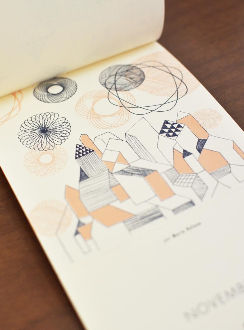 Novembro, ilustrado por Maria Helena /  November, illustrated by Maria Helena