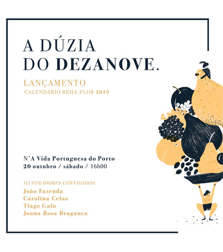 lancamento calendario beija-flor 2019