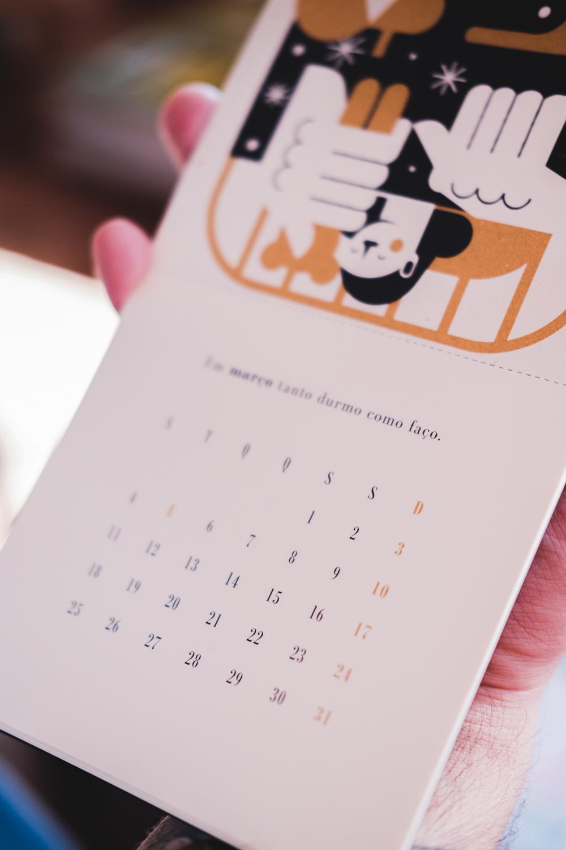 lançamento calendário beija-flor 2019