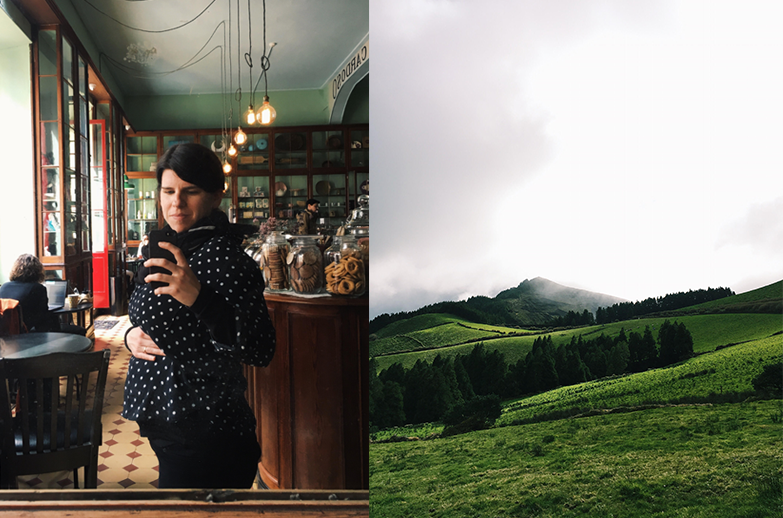 Nos Açores, onde descansámos, desligámos e nos inspirámos. Que terra tão bonita!