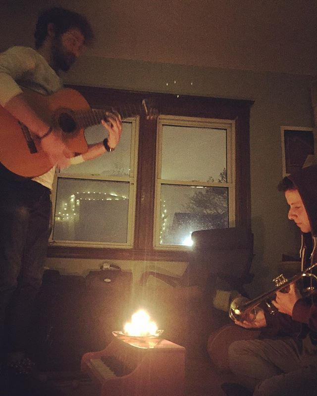 My boys making music ❤️