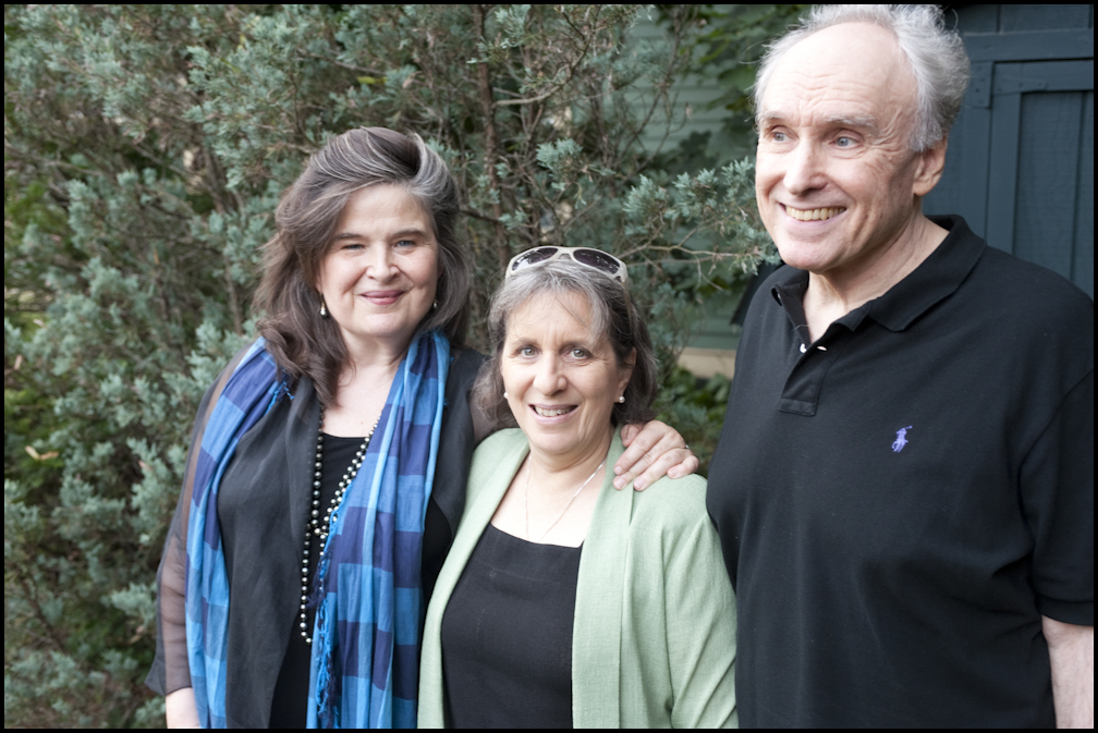 Honor Moore, Mary Gordon, Frank Bidart