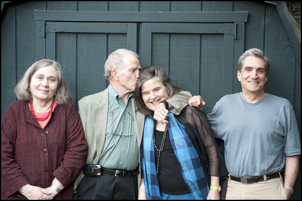 Marilynne Robinson, William Kennedy, Honor Moore, Robert Pinsky
