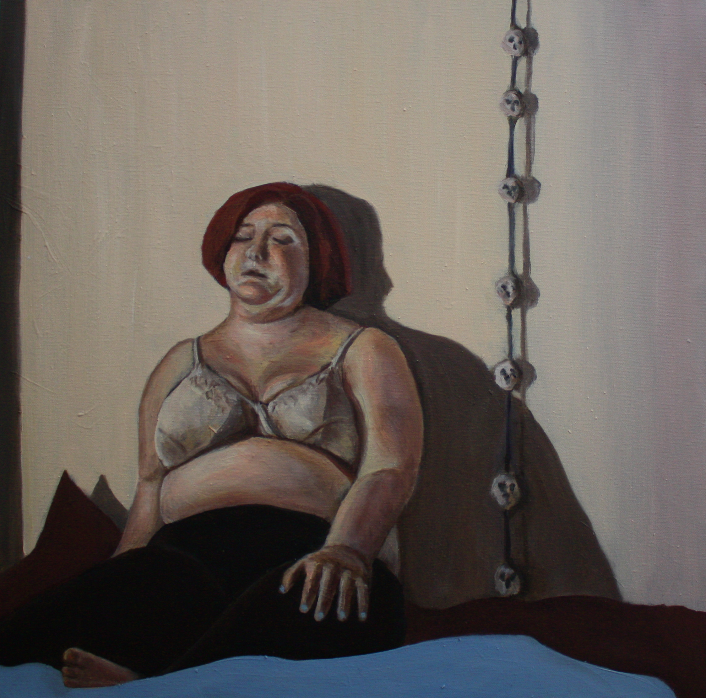 "Light Emergence   20""x 20"" Oil on Canvas 2010"