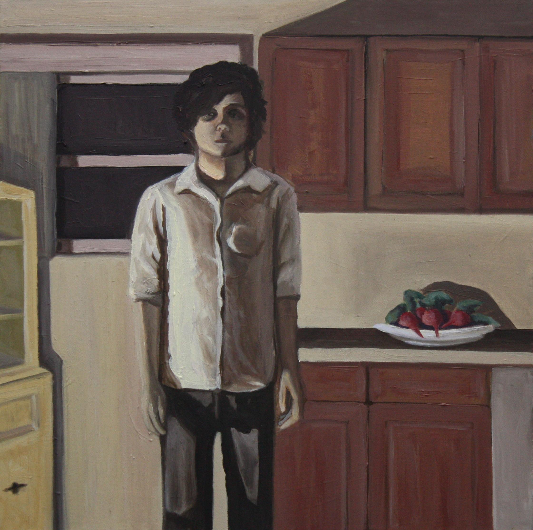 """Nostalgia   18""""x 18"""" Oil on Canvas 2010"""