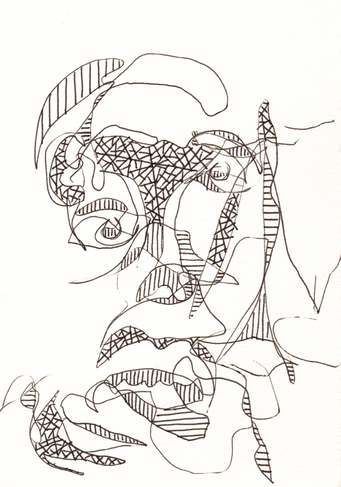 "Pen on Paper 4"" x 6"""