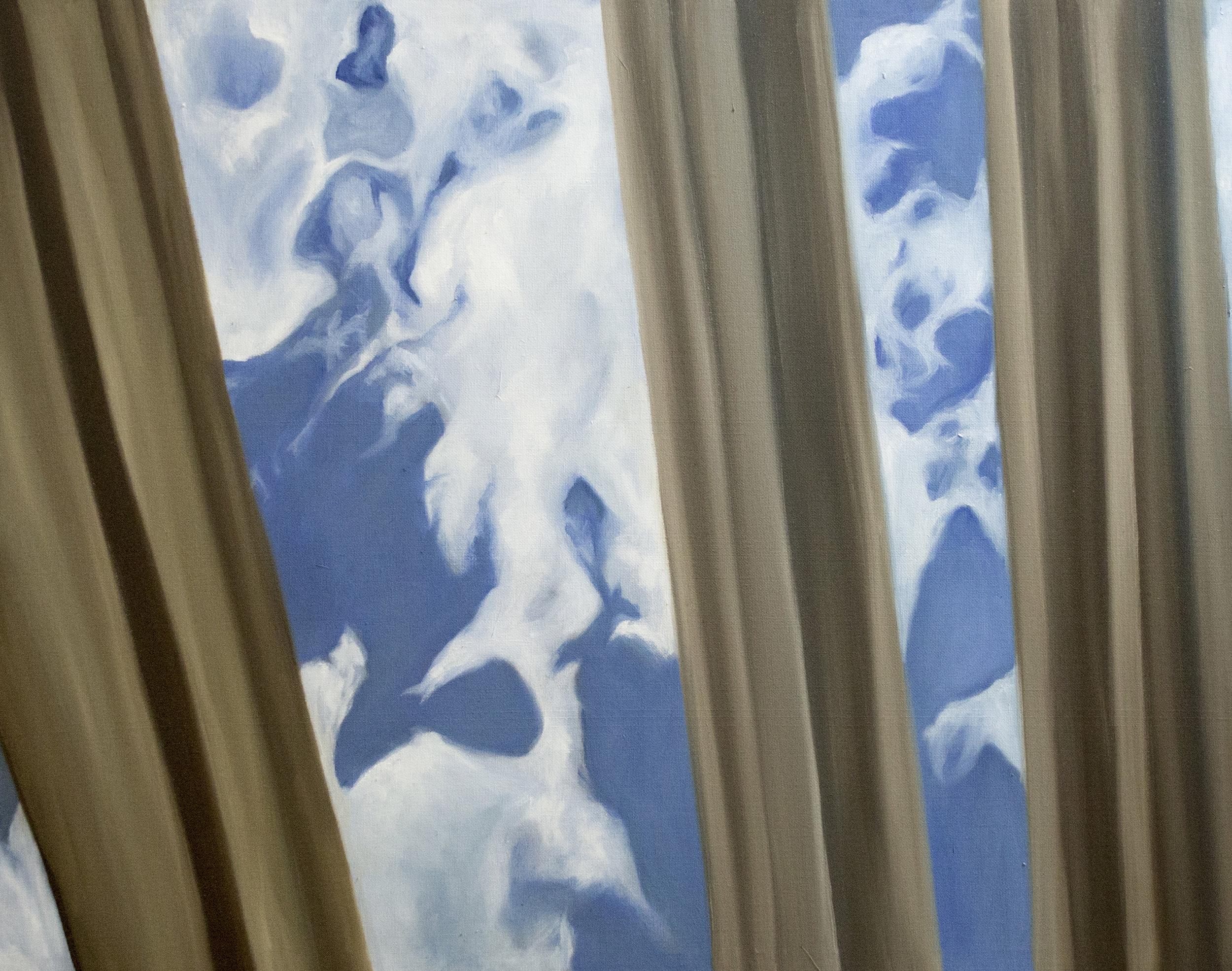 "Frieze   24""x 30"" Oil on Canvas 2017"