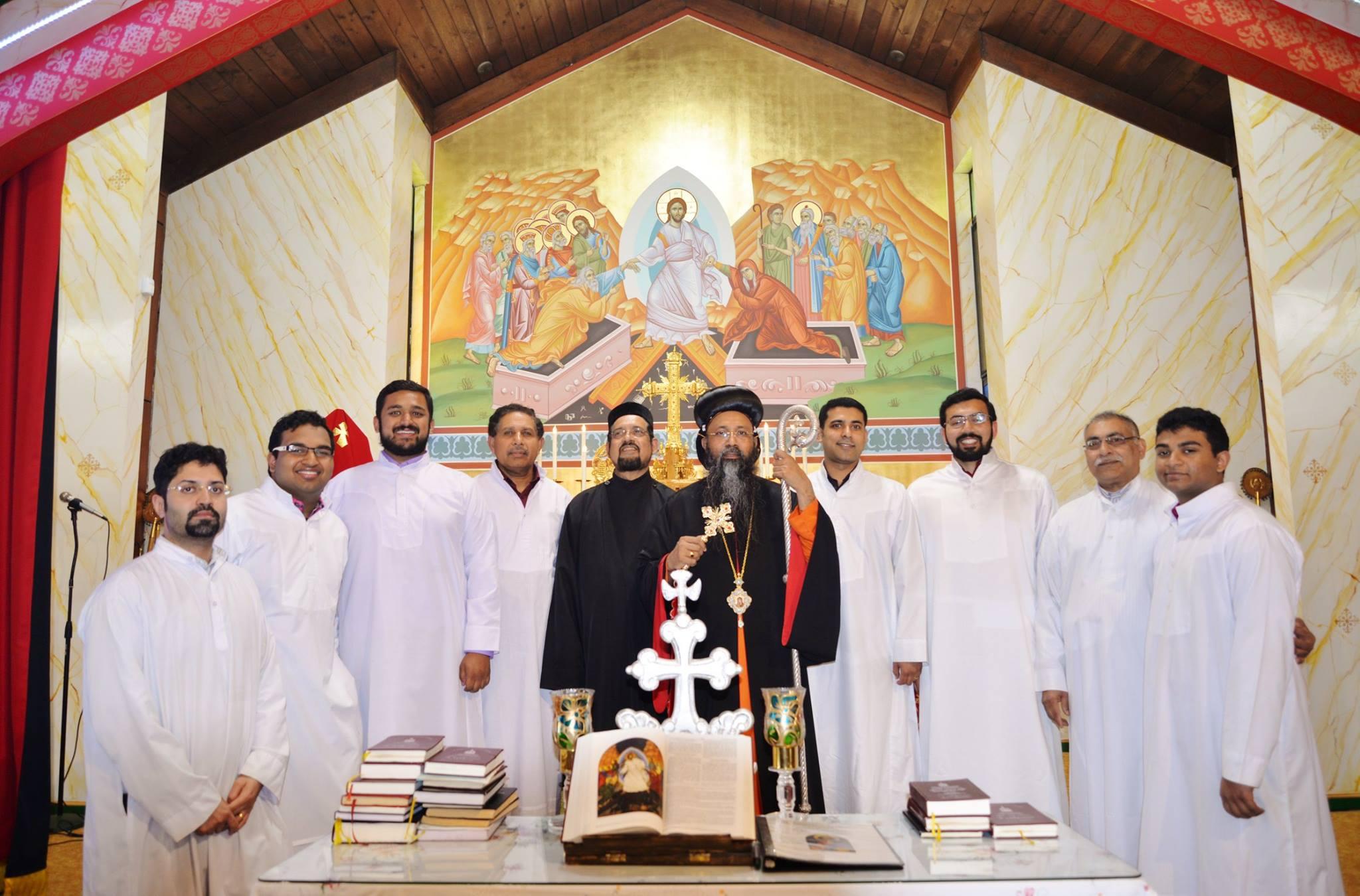 Parish Day - Chief Celebrant H.G Alexios Mar Eusebios Metropolitan,on May 21st, 2017