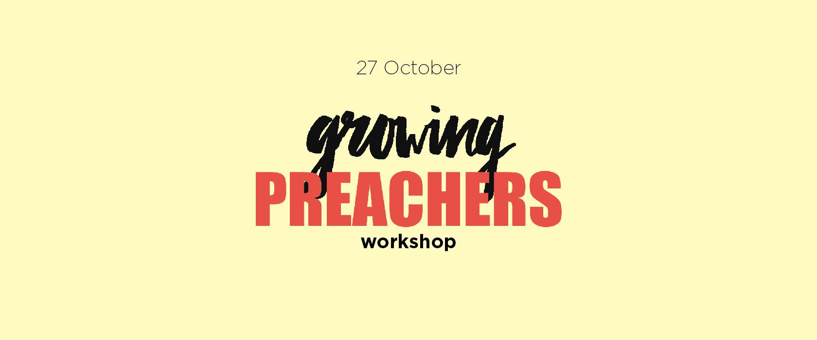 Growing Preachers