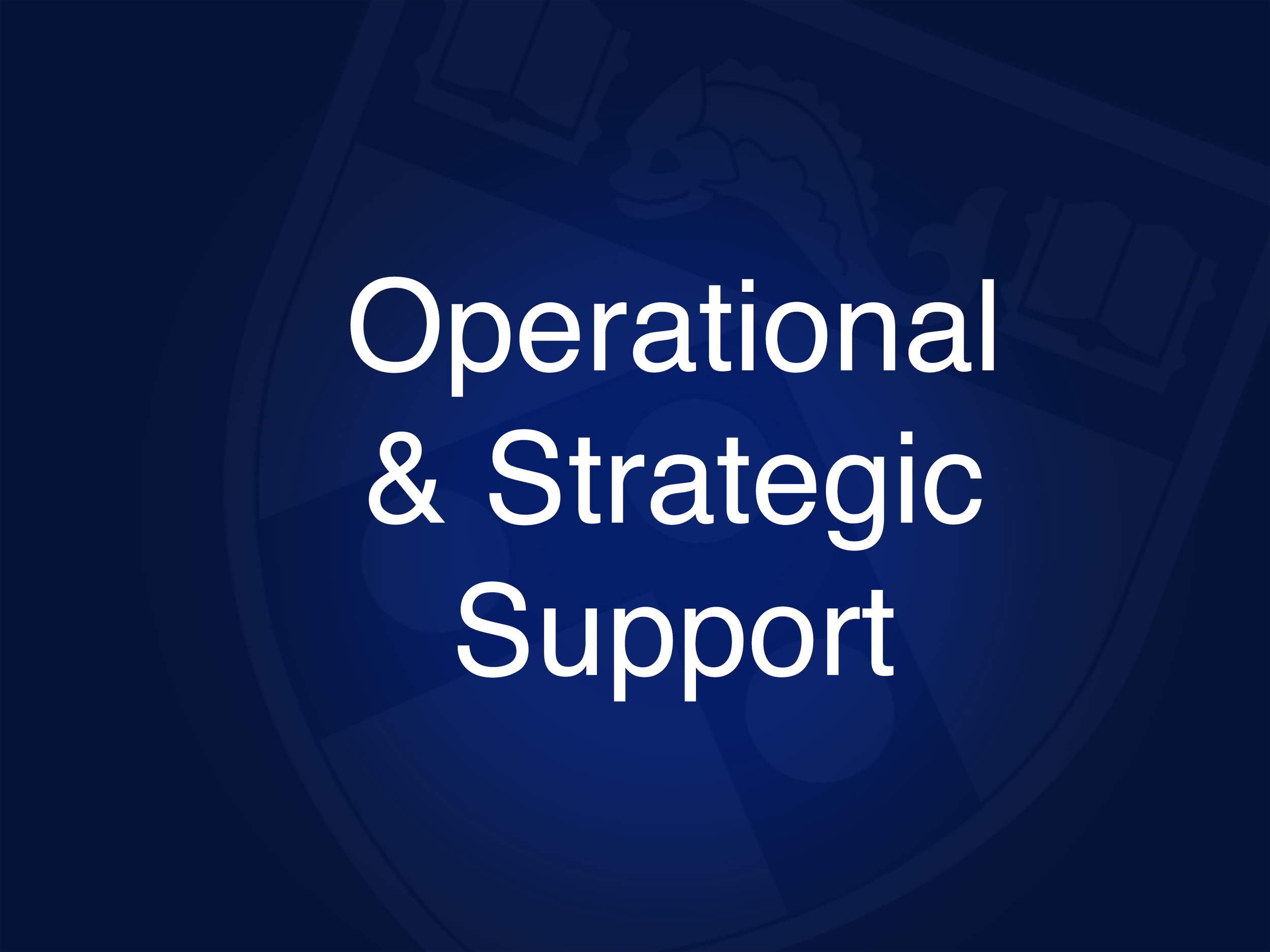 •  Conduct research and analysis to support operational improvements and define strategic direction to increase firm value