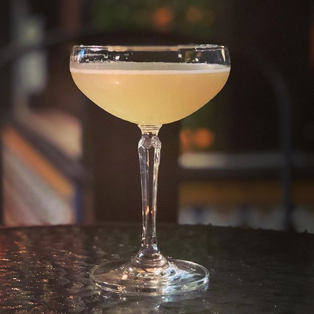 Introducing The Elder Wand, cocktail of the week. Elderflower, peach, lemon and a dash of sugar. Tastes like magic.