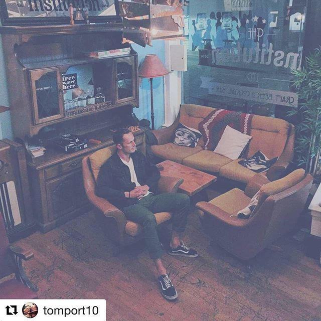 #Repost @tomport10 with @get_repost ・・・ #christchurch #theinstitution #cocktails