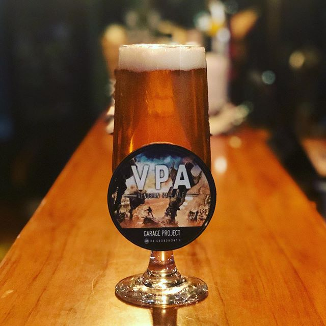 A beer from out of this world has landed at The Institution - the Venusian Pale Ale flew straight from Venus, via @garageproject. With notes of lemongrass, grapefruit and coriander followed by kaffir lime - it's floral, herbaceous and citrusy. A very aromatic and botanical beer - we dig!