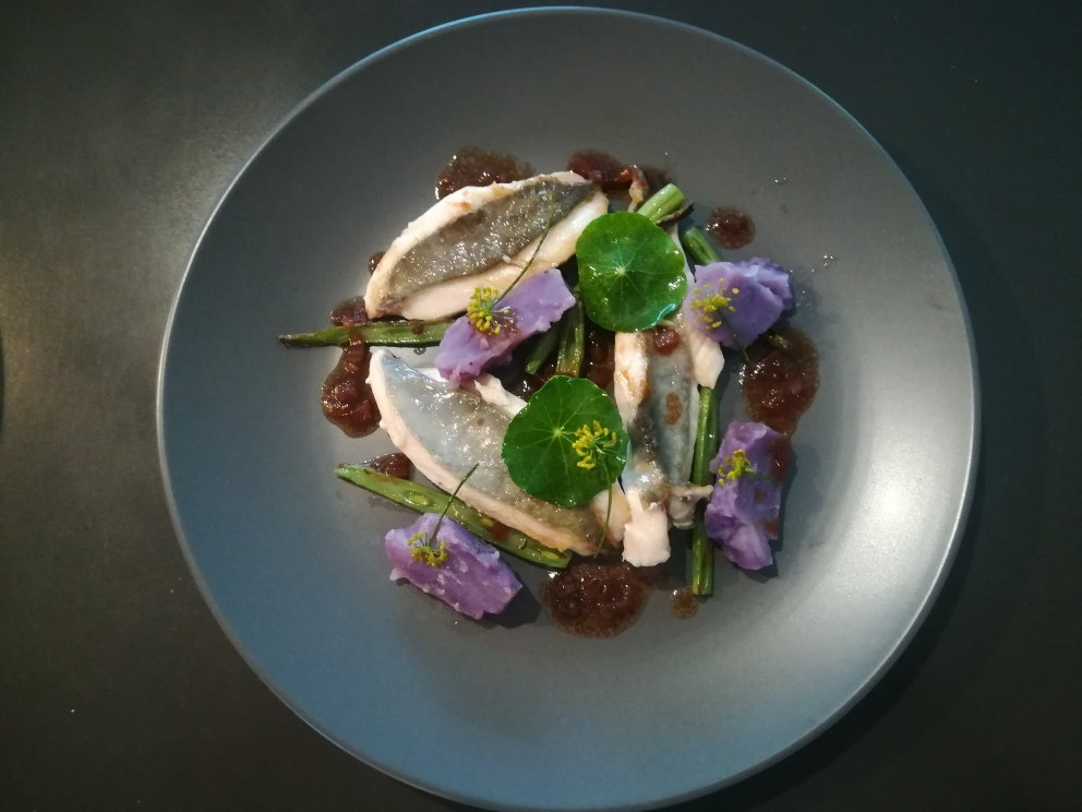 Jeremy Rameka - Chef.Pan-fried John Dory.