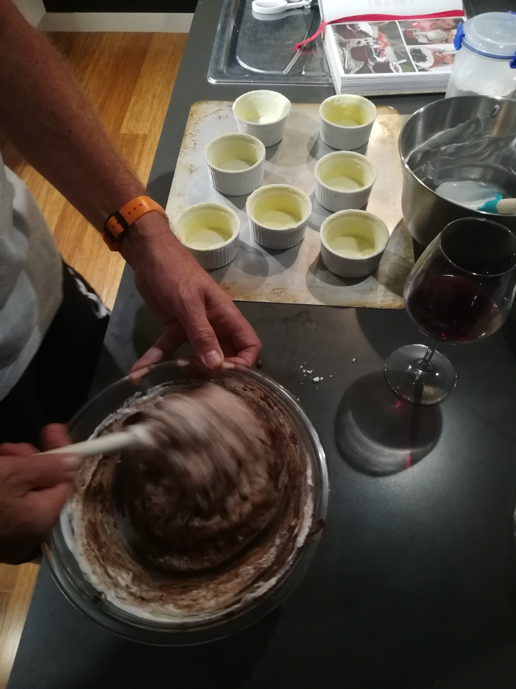 Ben Bayly - Chef.Chocolate souffle.