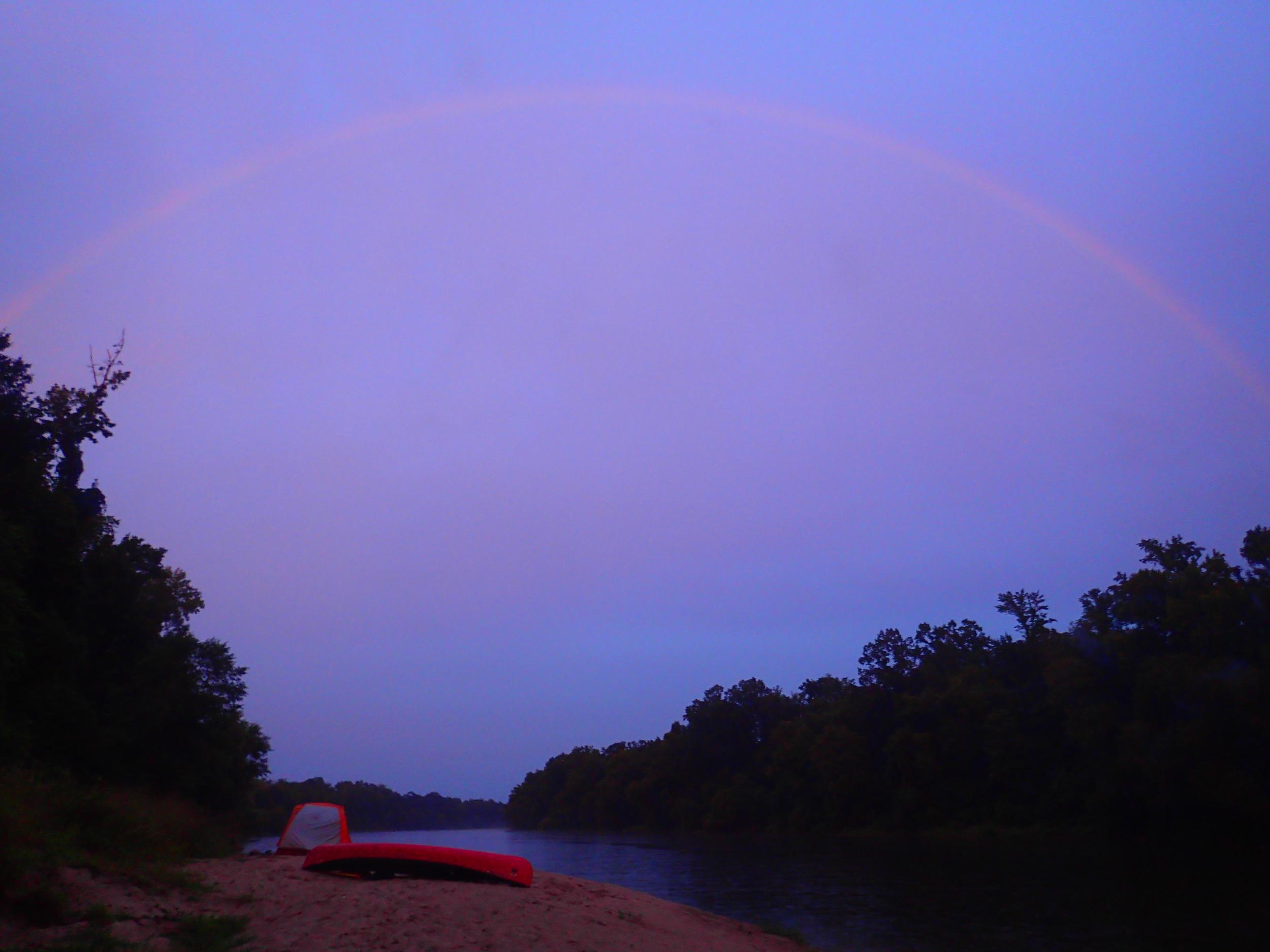 sabine river rainbow