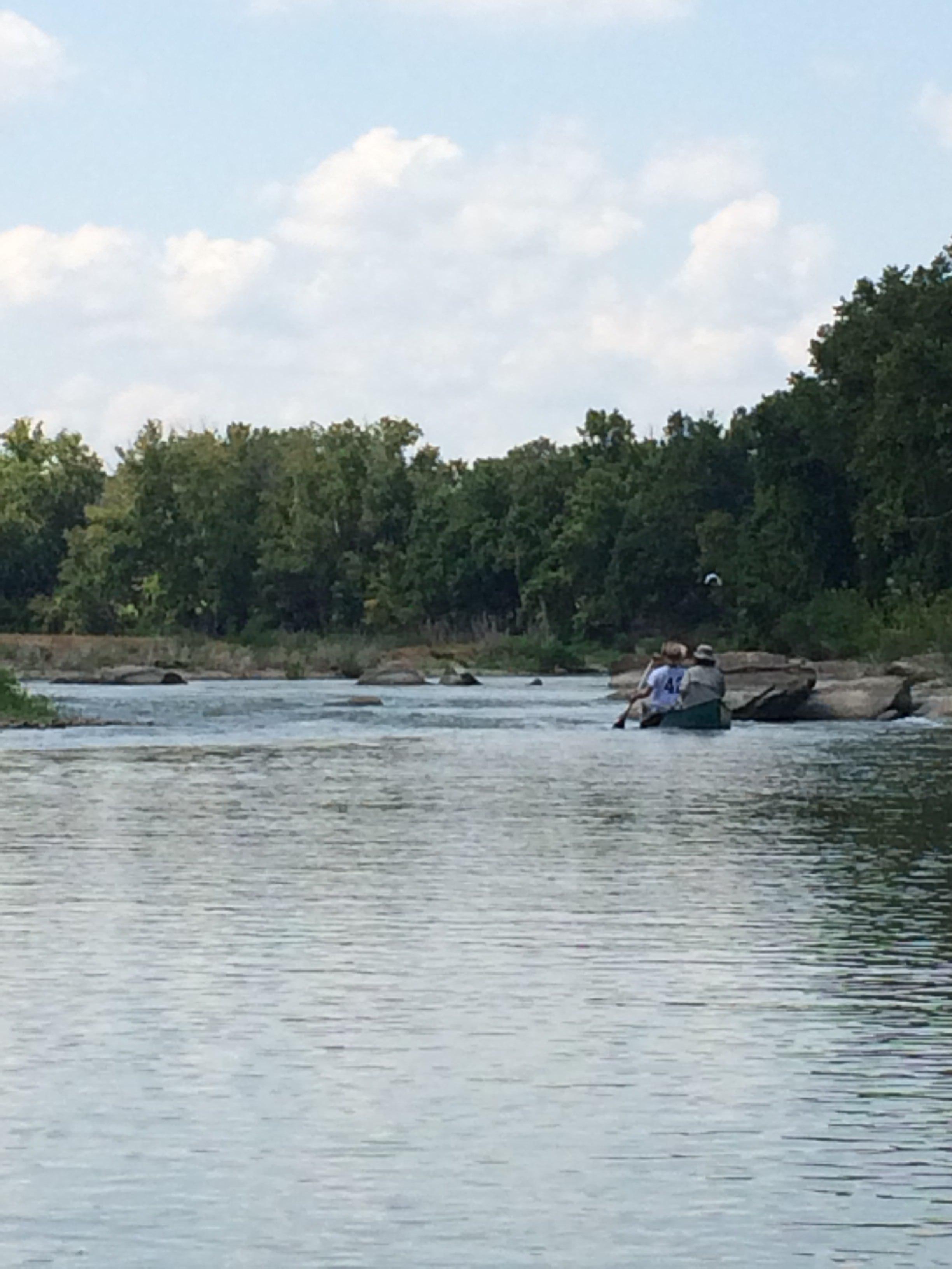 canoeinriver