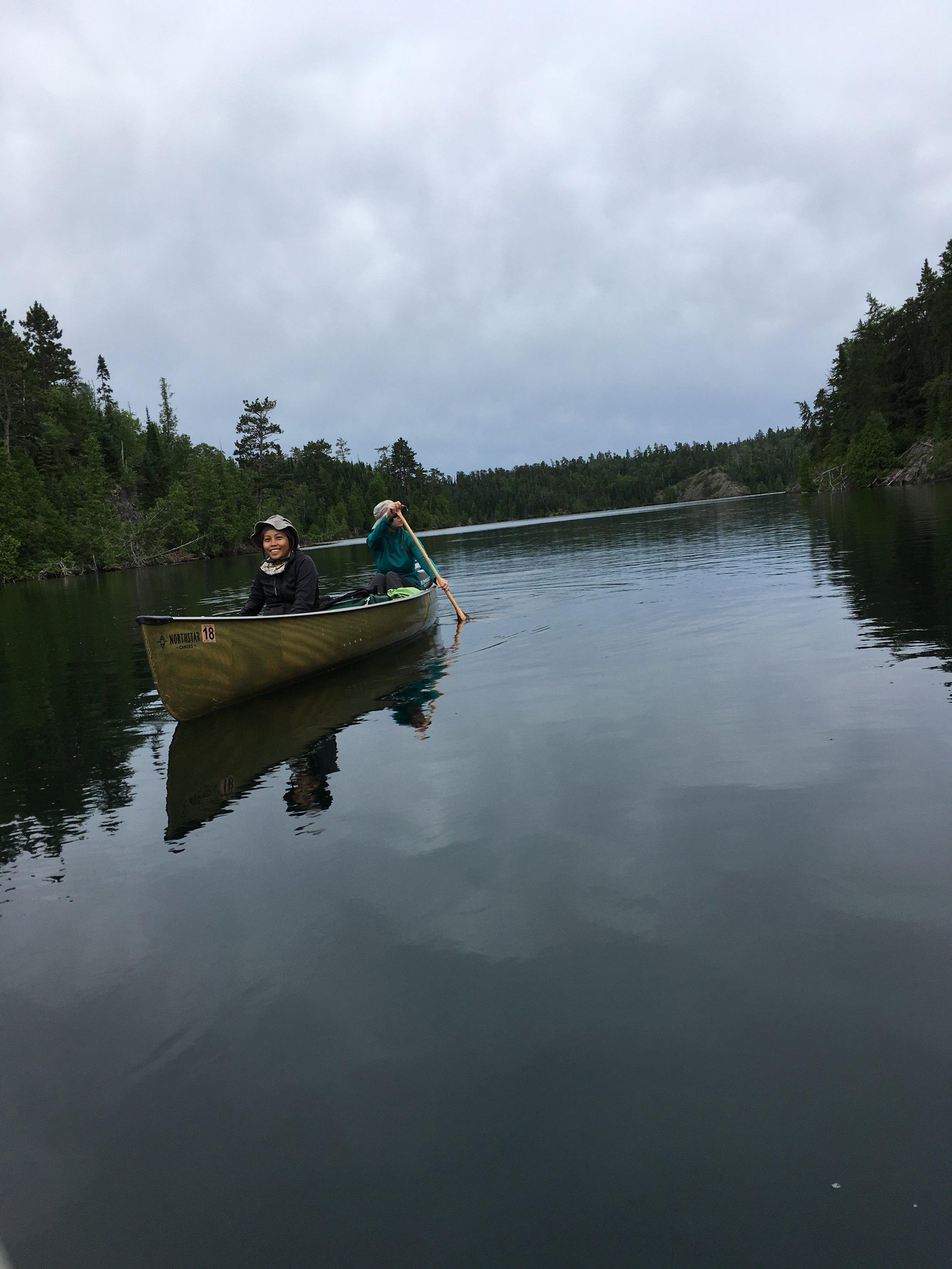 canoeing morning