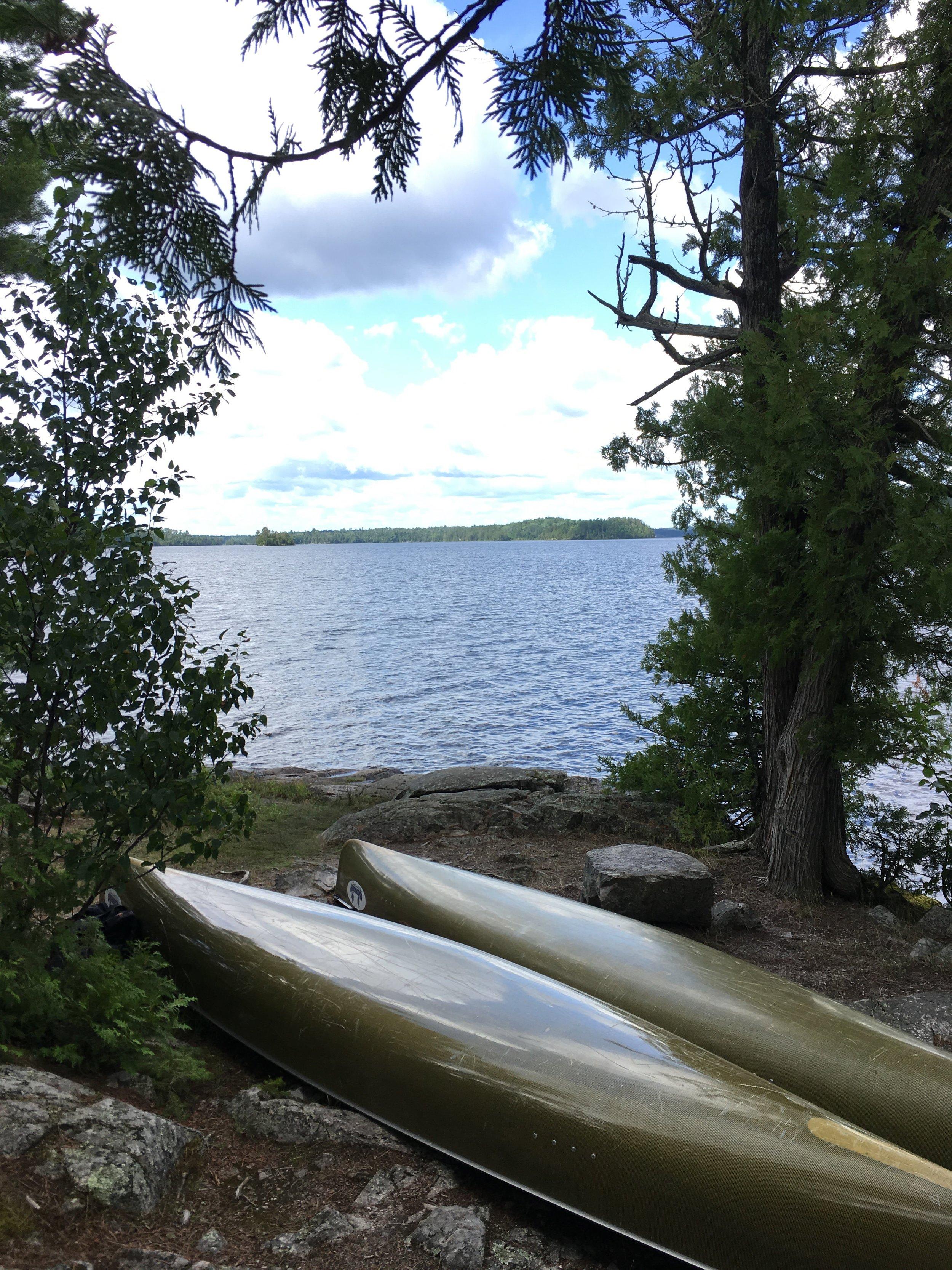 Canoes Saganaga