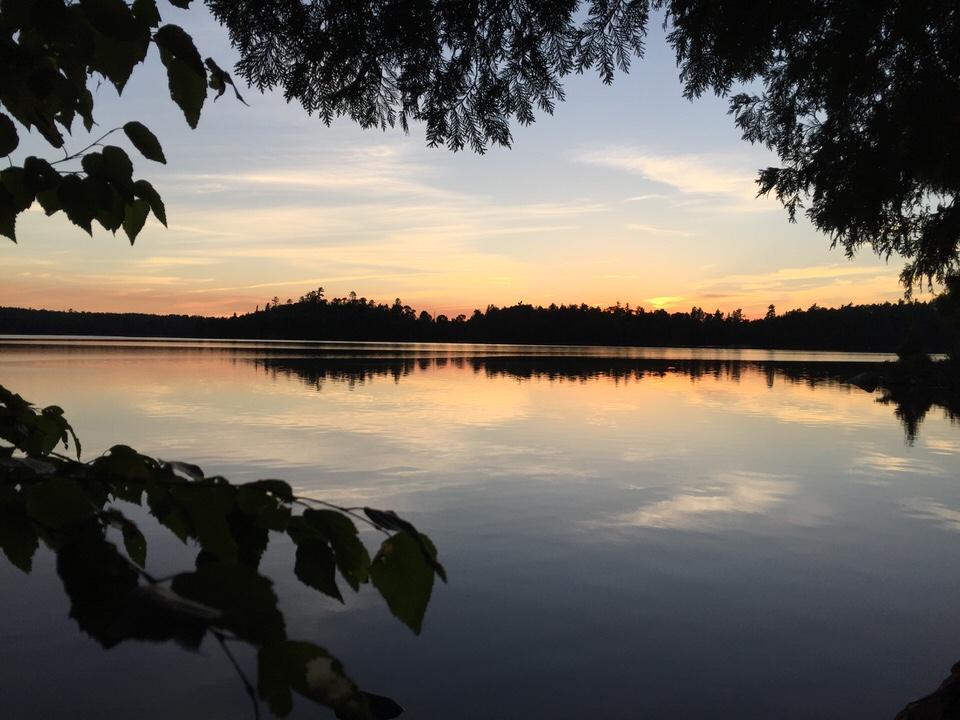 Gebe sunset
