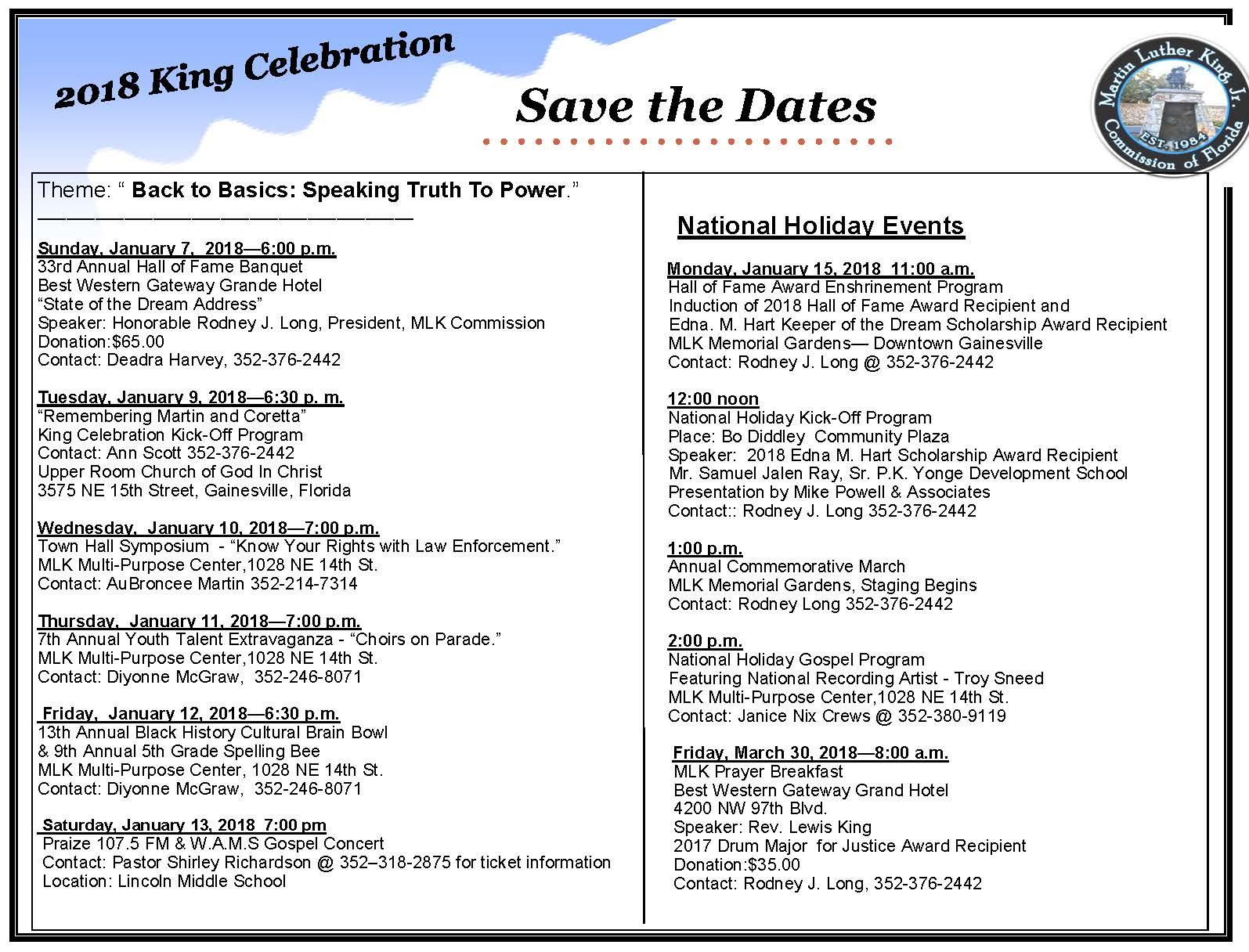 King Celebration Save The Dates Calendar. 2018.jpg
