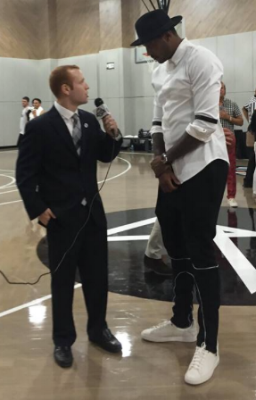 Interviewing NBA All-Star Carmelo Anthony