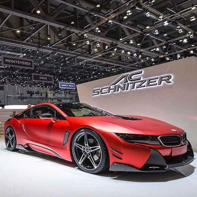 AC Schnitzer at work on the I8 #bmwi8 #electric #acschnitzer #0to100 #supercar #hyperdrivenz