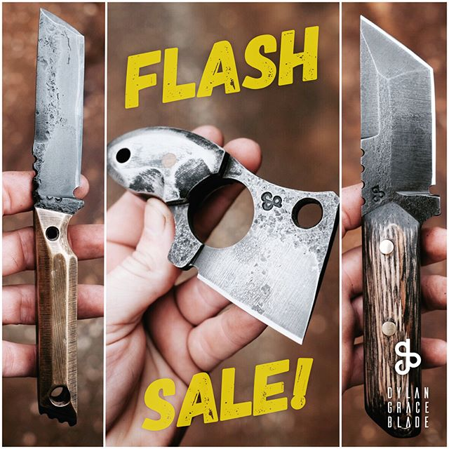 A few really cool blades just hit the shop. Go check them out and try to snag one! (Link in bio)