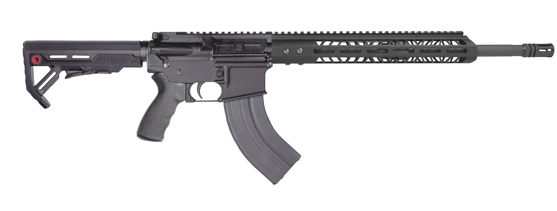 *ARK-16 shown with optional Viper Mod-1 Stock, Ergo soft-grip, MLOK rail forend and heavy barrel.