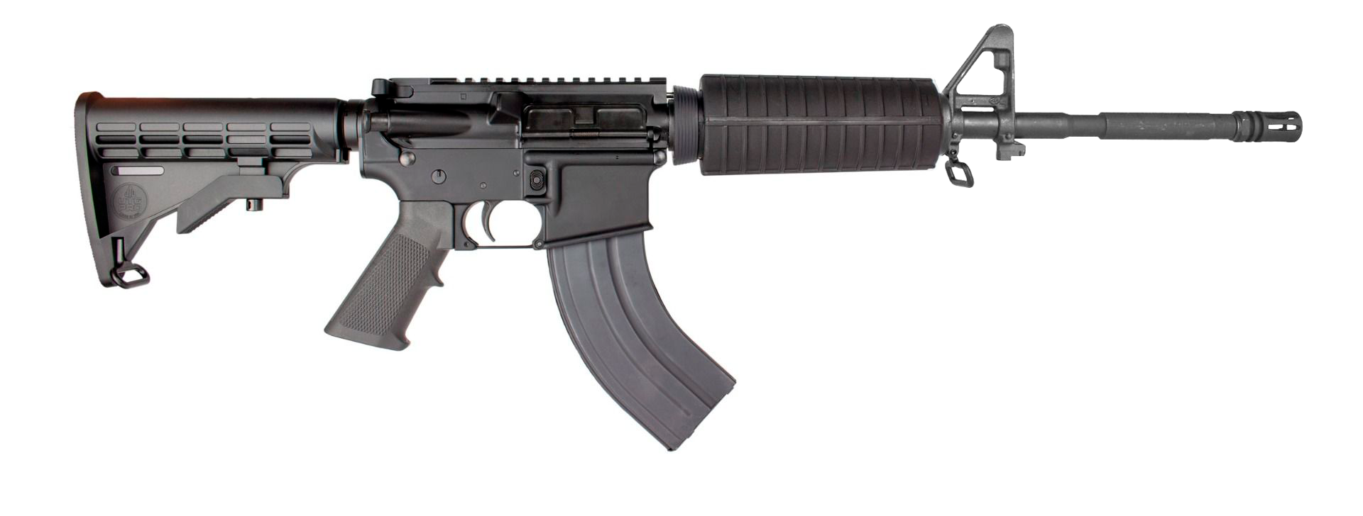 *ARK-16 shown with base 5-position stock, standard grip, basic M16/M4-style forend and barrel.