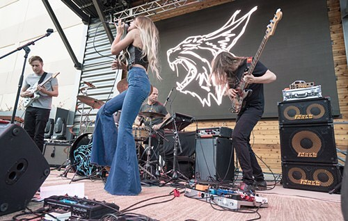 Found this picture of my bell bottoms in the @dallasobserver, thought you would like to see them. Are they not glorious??? 📸: Mike Brooks