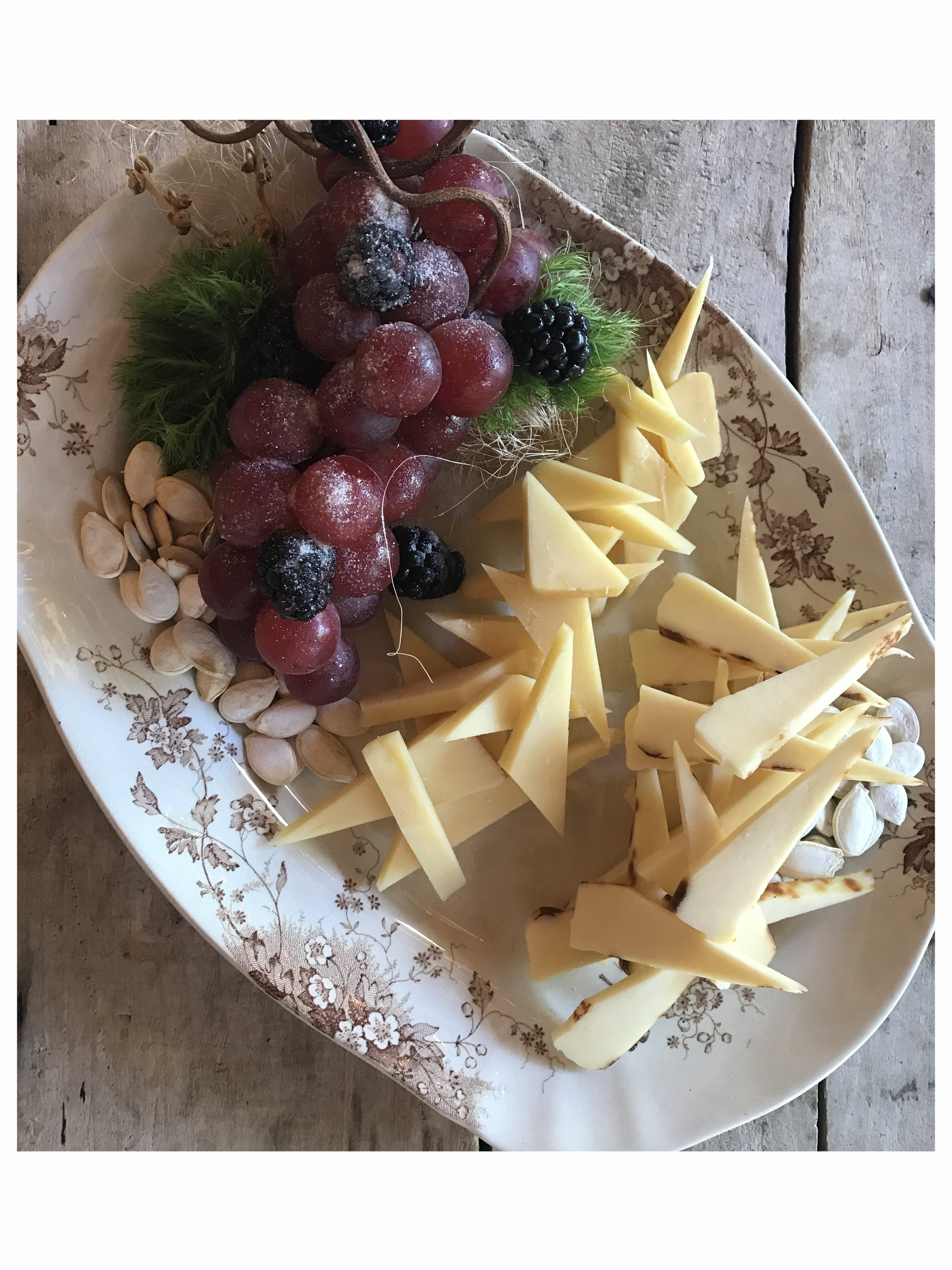 Bridal Cheese and Fruit Platter