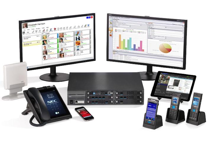 NEC system-phones
