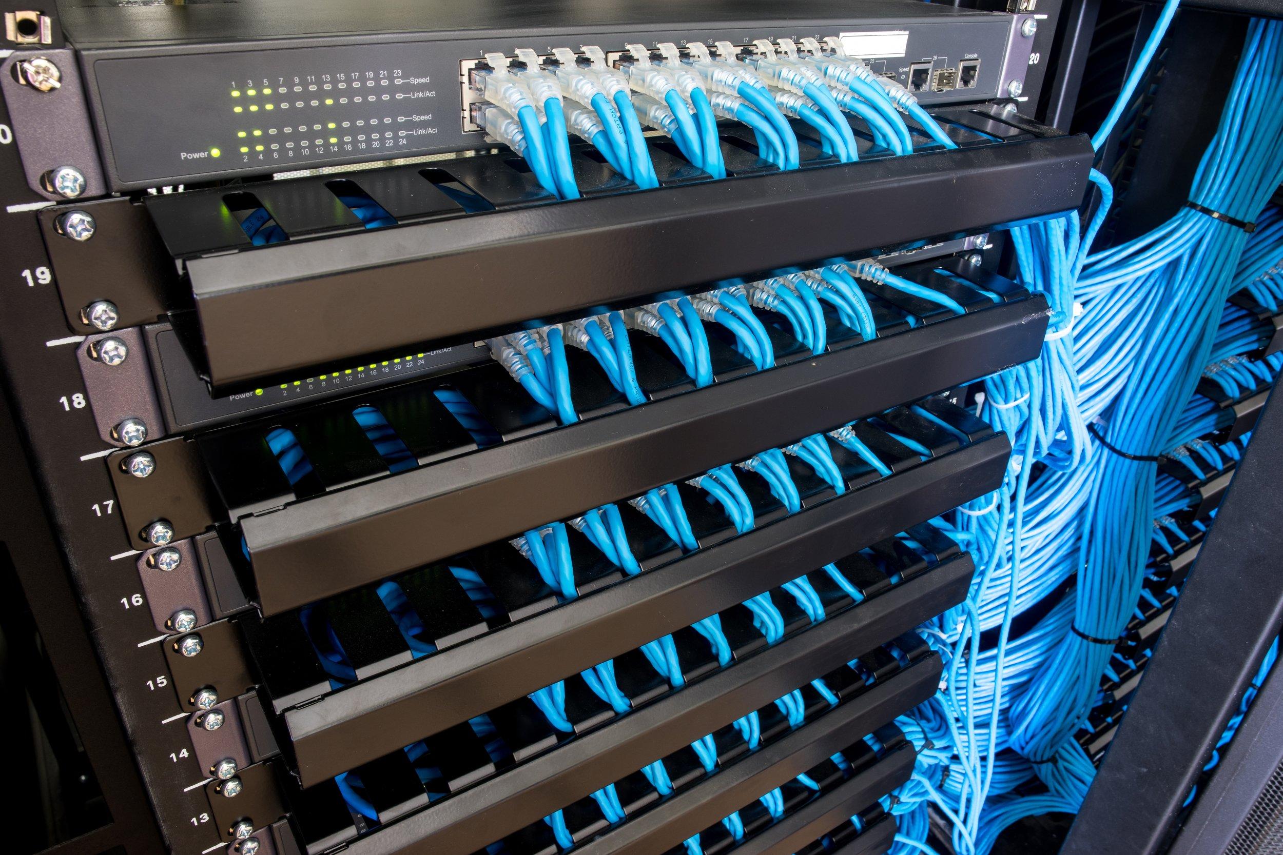 IT-Rack-cable Management