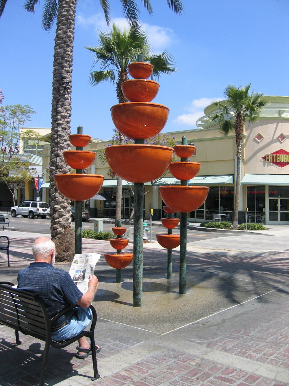 MEG CRANSTON   Orange Grove Fountain