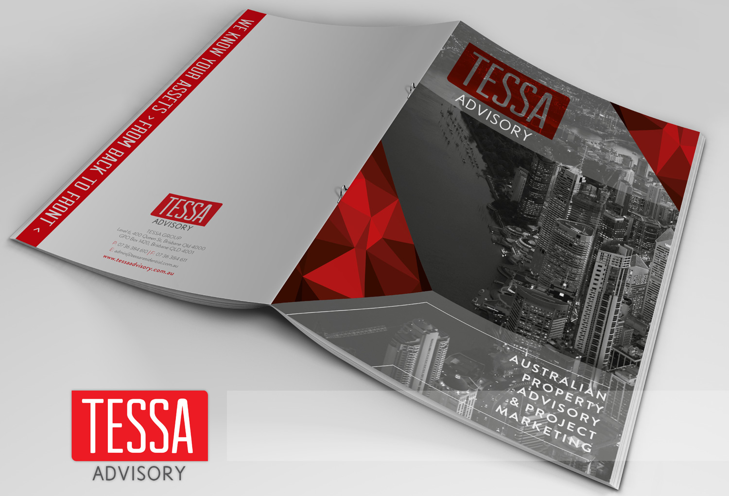 Tessa Advisory | Brochure Cover