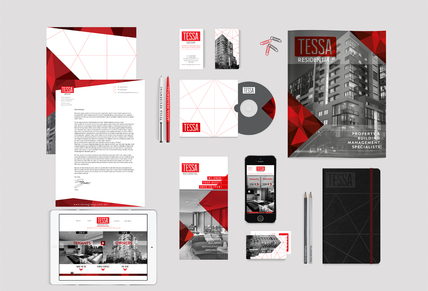 Tessa Group | Stationary