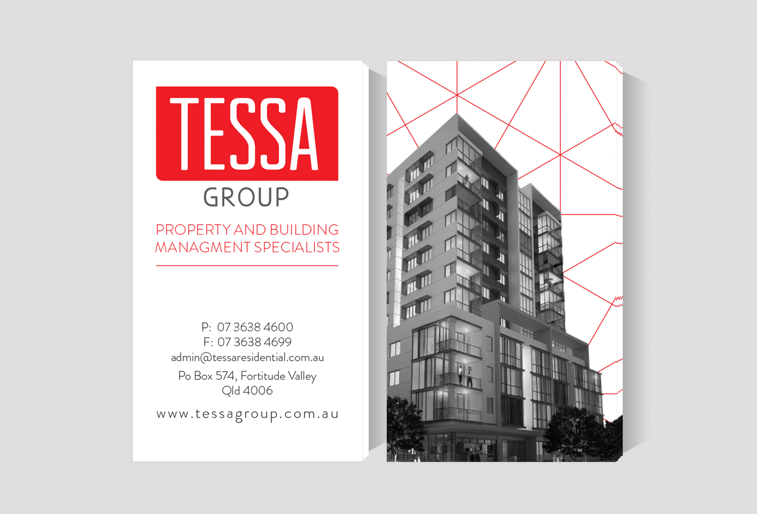 Tessa G  roup | Business Card