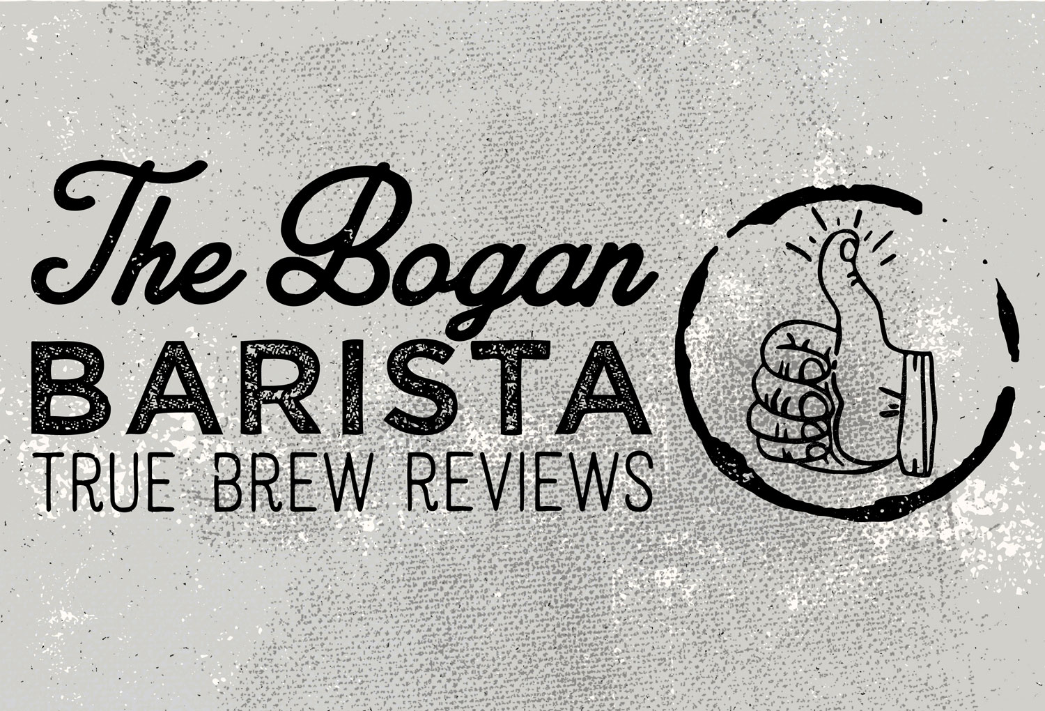 The Bogan Barista Logo