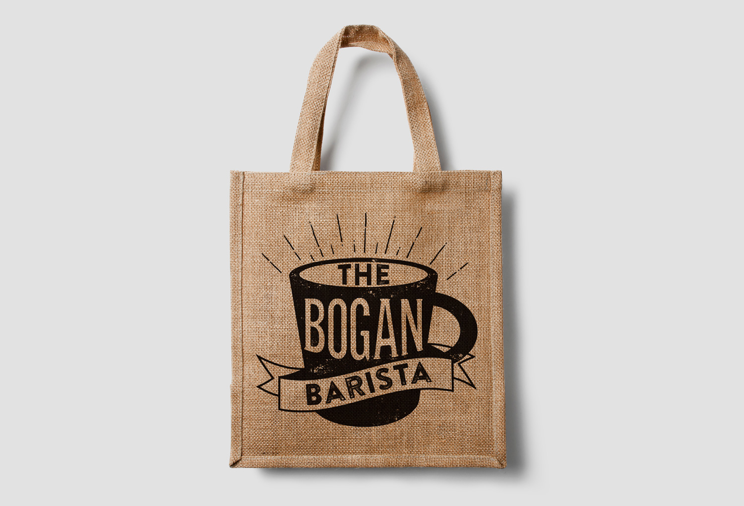 The B  ogan Barista tote bag