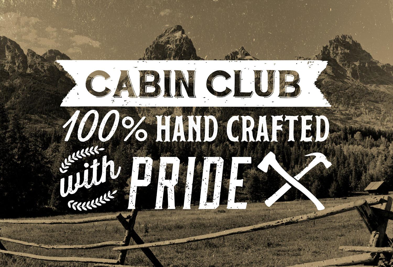 Cabin Club | Website Banner