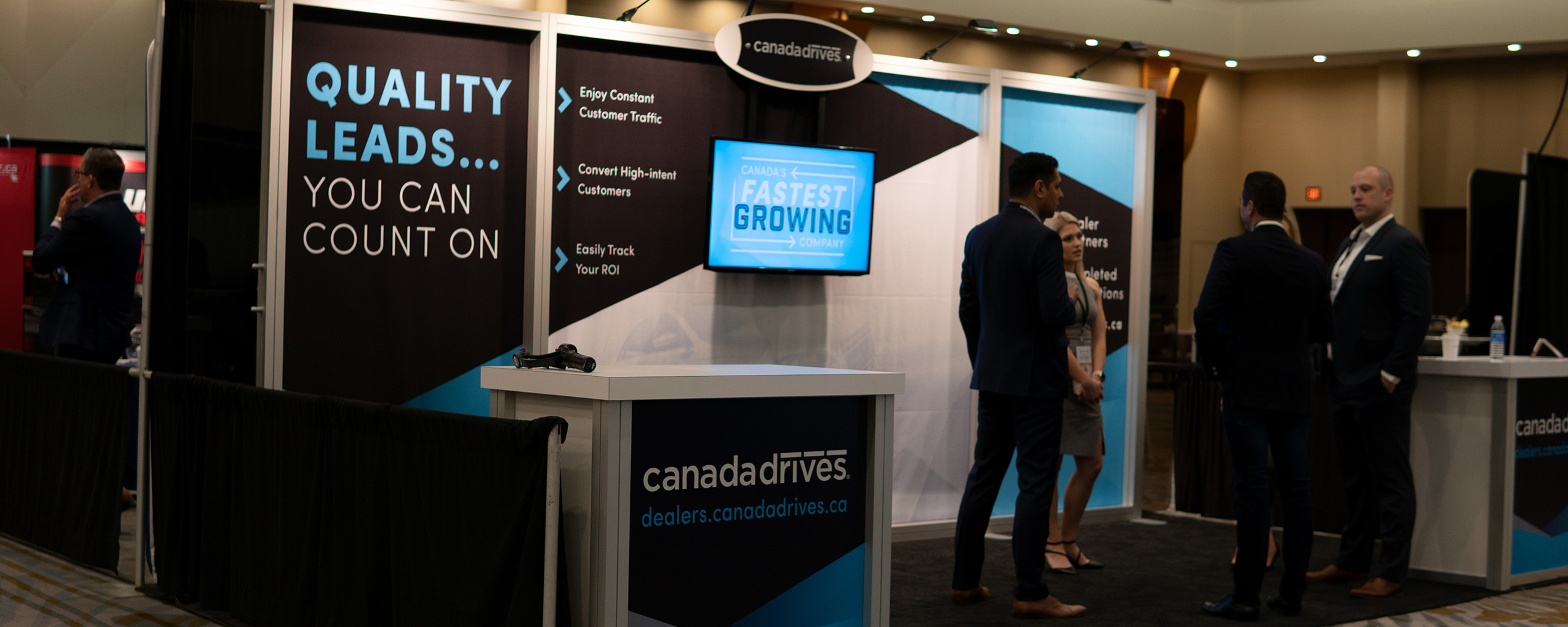 Conference tradeshow booth design