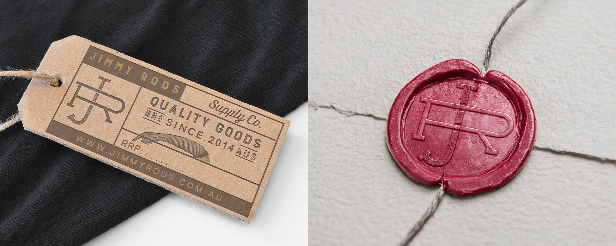 Clothing Tag/ Custom Monogram Stamp