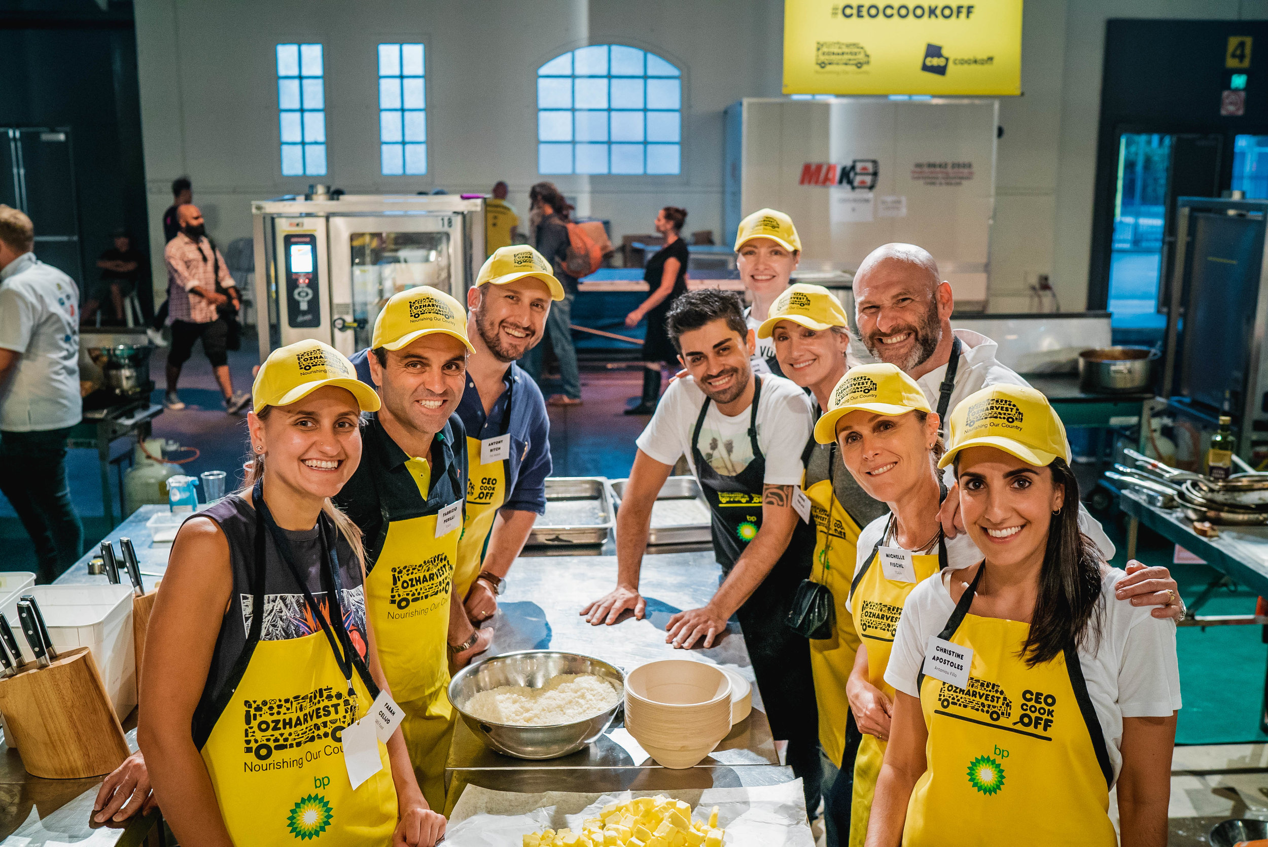 Team Ormeggio, lead by the talented Alessandro Pavoni.