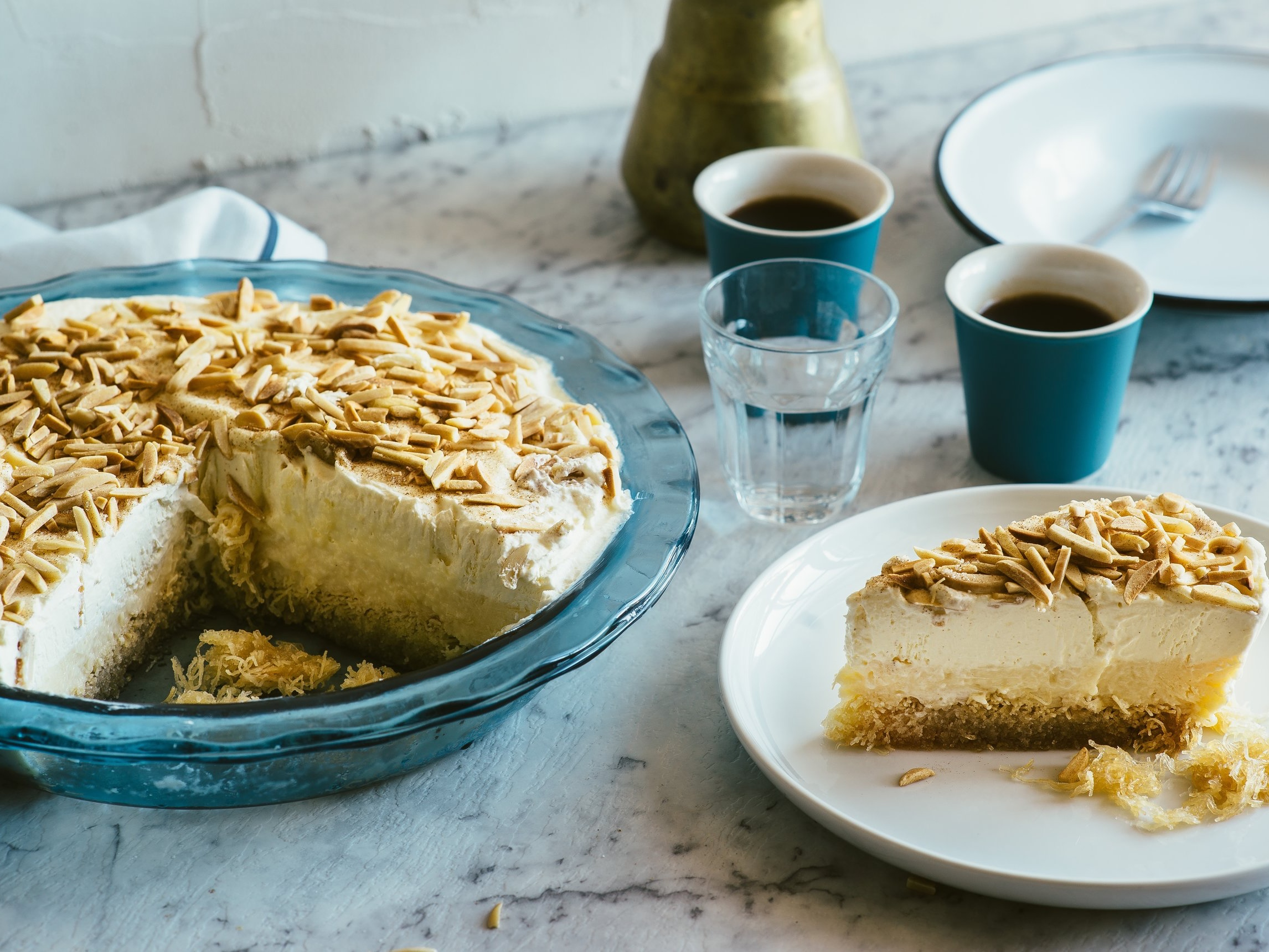 Crema Kataifi - A glorious combination of flavours and textures, Kataifi Pastry, custard and cream - this Kataifi Pastry recipe is one that won't disappoint.