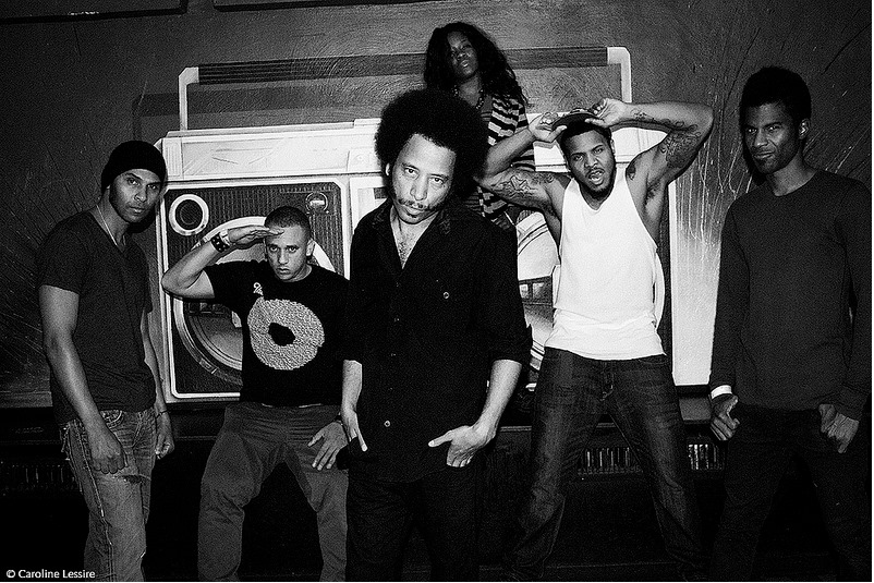 The Coup Includes: Boots Riley: Lyrics, Vocals, Production, Handclaps, Dancin and Keyboard tweeks Pam The Funkstress: Scratches and Poplocking, Silk-E: Vocals and gettin her muthafuckin gig on, B'nai Rebelfront: Guitar and general, dis-satisfaction, J.J. Jungle: Bass, Backflips, and Spins, Hassan Hurd: Drums and football, LJ: Organ and other keys