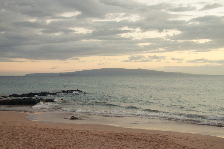 Kamaole 3 Beach at sunset
